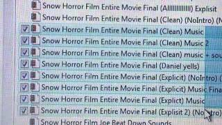 Behind the Scenes of Frozen Exile Too Many Project Files