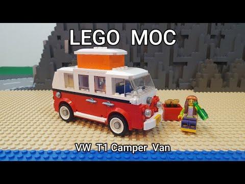 LEGO MOC VW T1 Camper Van