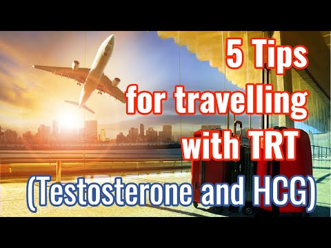 5 Tips for travelling with TRT- How to travel with Testosterone and TRT hormones