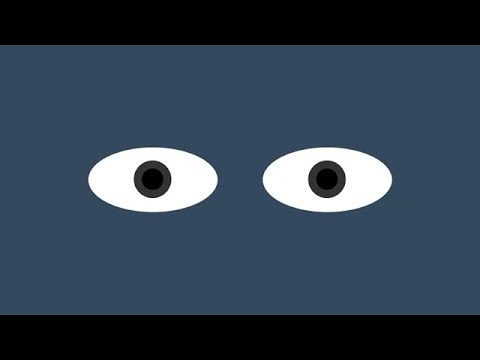 Eyes Follow Mouse Cursor Using HTML CSS & Javascript