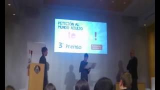 Chaval rechaza un iPod en un concurso de Antena 3
