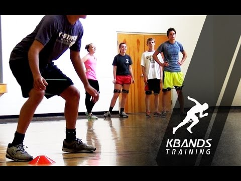 Youth Speed and Agility Training With Kbands, Youth Athlete