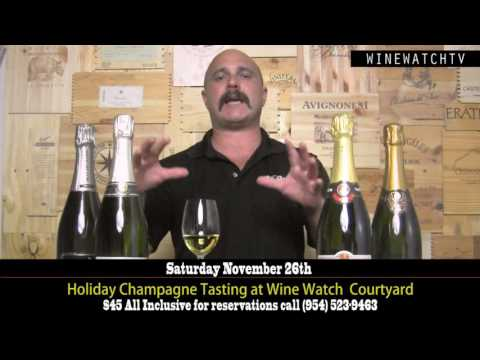 Champagne Tasting November 2016 - click image for video