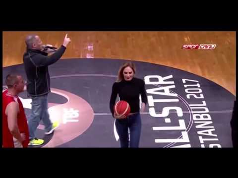 ALL STAR 2017 Action Team Turkey ,Flash mob, kadin seyirci smac vurursa