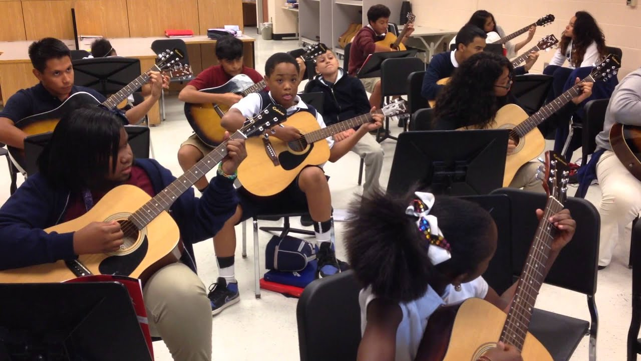 Lindley Middle School Guitar