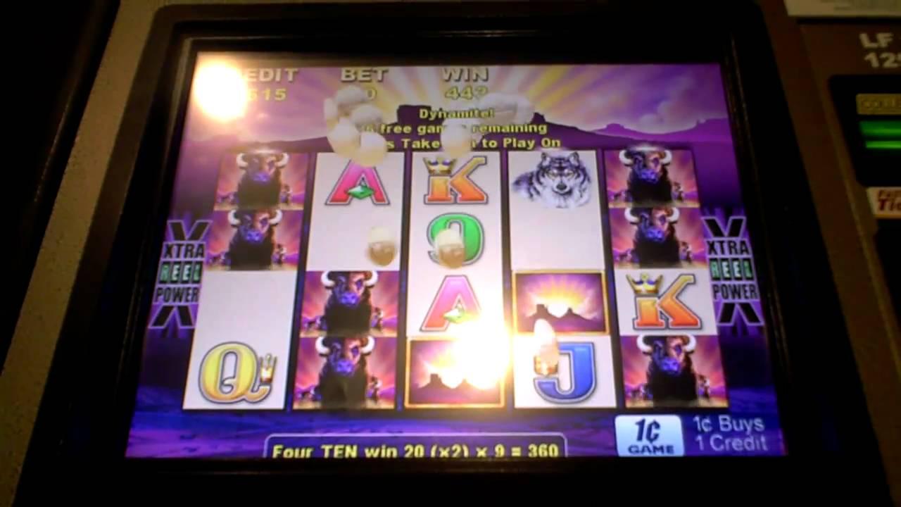 Buffalo Slot Machine Big Bonus Win At Harrah S Casino In