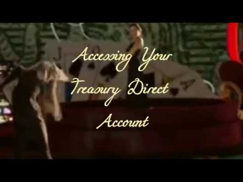 Access your Treasury Direct Account