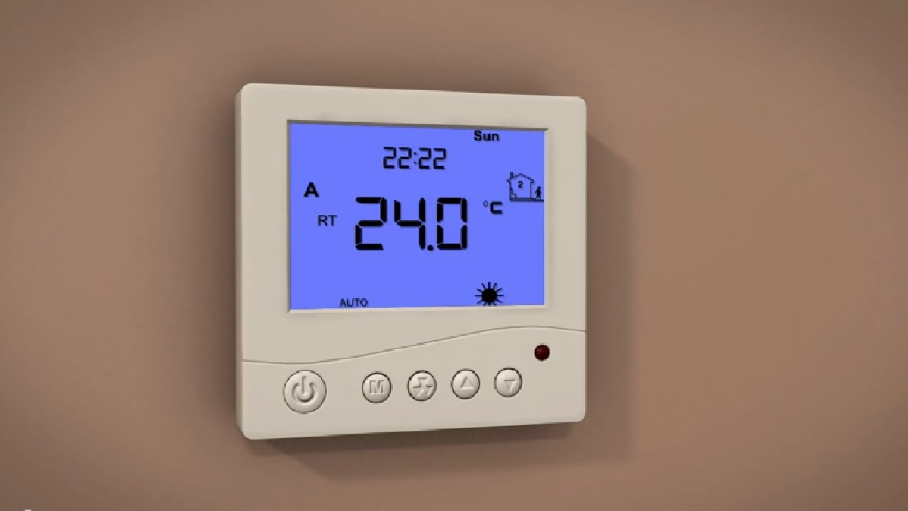 prowarm underfloor heating prodigital thermostat setup youtube rh youtube com