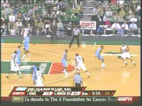 The Tar Heels Beat the spartans!
