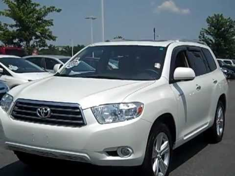 One Owner 2008 Toyota Highlander For Sale In Charlotte, NC | Lake Norman  Chrysler Jeep Dodge
