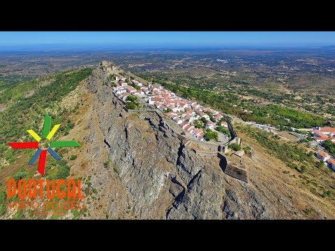 Marvão aerial view - Marvão vista aérea - 4K Ultra HD