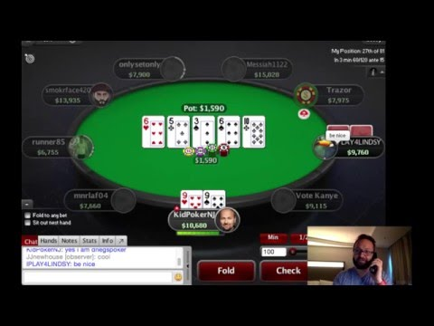 Daniel Negreanu play PokerStars Big $10 // 2016