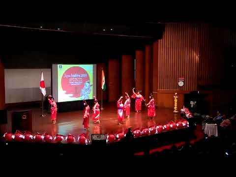 JAPAN HABBA-2018 @ Banglore fusion dance
