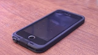 Repeat youtube video LifeProof fre Iphone 5s Case Unboxing and Install