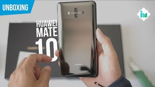 Huawei Mate 10 - Unboxing en español