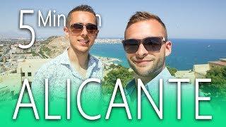 ALICANTE in 5 Minuten 😎 STRAND travel vlog SPANIEN URLAUB