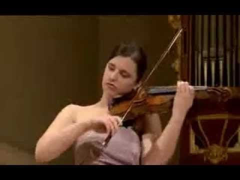 Maria Włoszczowska plays at 14th International Henryk Wieniawski Violin Competition 2011 (Stage 2)