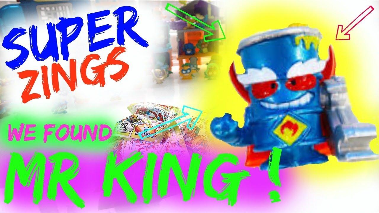Super Zings Series 3 Mr King Youtube
