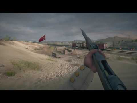 Battlefield 1 - Raid on The Suez Canal Ottoman Defense