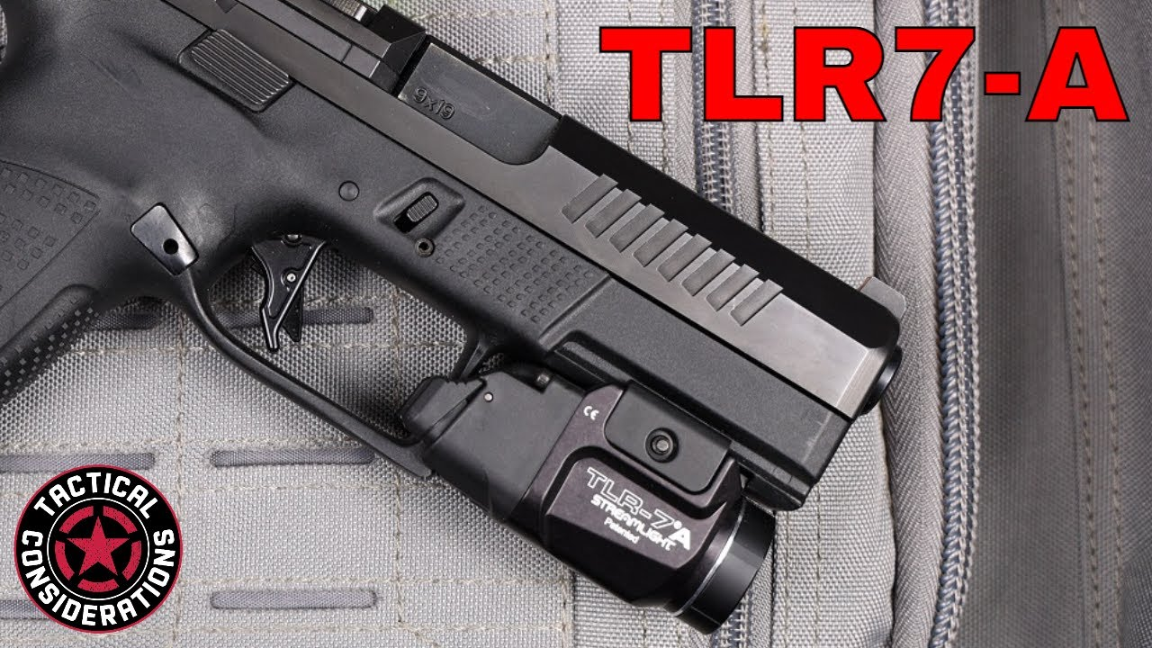 Streamlight TLR7A New Light For Compact Carry