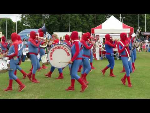 Bournemouth Carnival Band at Lymington Carnival 2017