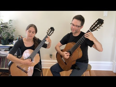 Vol. 2 Method Duets: Andante in G Op.27 by Carulli for Classical Guitar