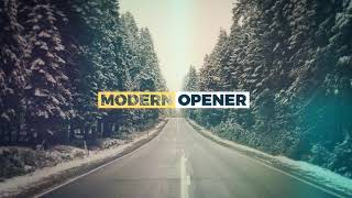 Modern Opener With Titles  - After Effects Template From Videohive