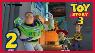 Toy Story 3 El Videojuego - » Parte 2 « - Español [HD]