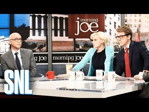 Morning Joe Michael Wolff Cold Open  SNL
