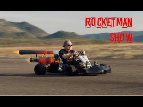 Rocketman: Part #2 HOW to make a SUPER JET GOKART !