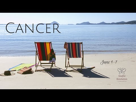 A sudden TRUTH, CANCER. June 1-7 Weekly Reading