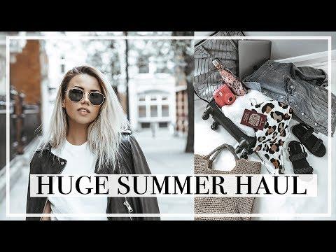 HUGE SUMMER HAUL (ft Topshop, Nasty Gal, Miss Selfridge, Zara & More)   Copper Garden