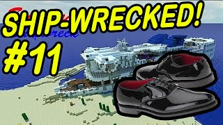 "Minecraft | SHIPWRECK! | ""The Quest for Shoes!"""