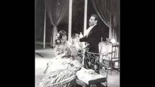 """Alfredo Kraus & Maria Callas cantan """"Un di felice"""" (1958)"""