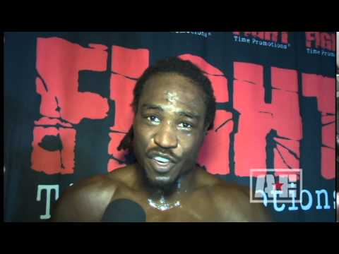 Fight Time 20 - Jason Jackson Post Fight Interview