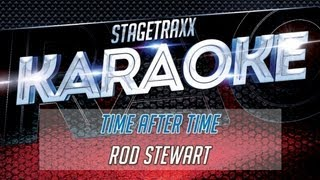 Rod Stewart - Time After Time (Karaoke)