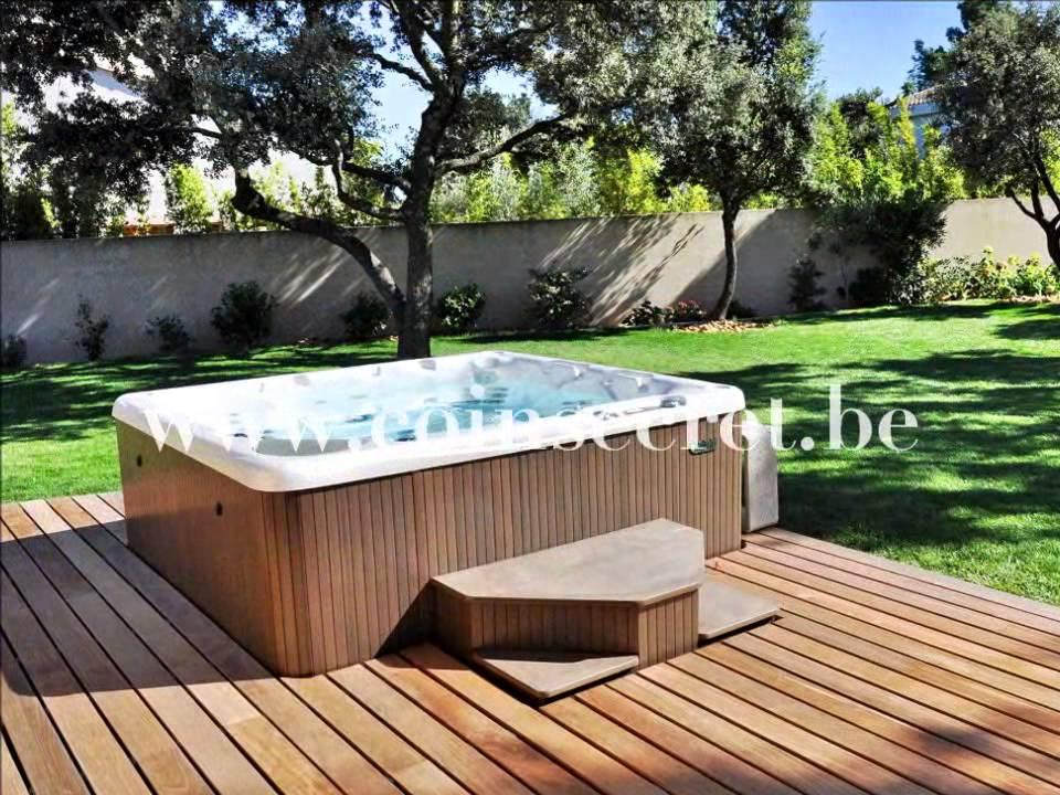 Gite met airconditioning en tuin met jacuzzi voor vakantie vlakbij avignon voor 2 personen - Outs zwembad in de tuin ...
