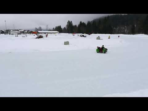 Skijoring Eisrennen Weissenbach am Lech 2018