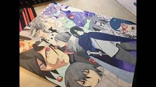 Speed drawing – Sasuke Uchiha Collage