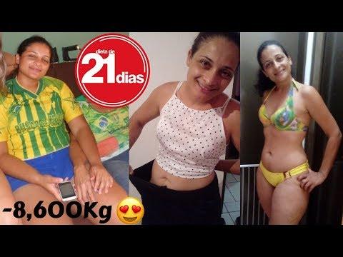 A DIETA DE 21 DIAS REALMENTE FUNCIONA ELIMINEI 8 KILOS ANTES E DEPOIS