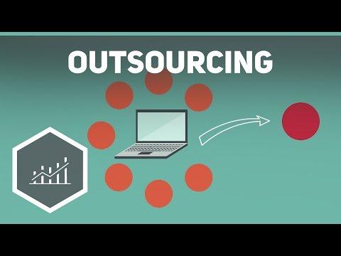 Outsourcing einfach erklärt - Grundbegriffe der Wirtschaft