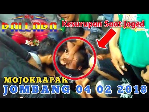 Detik-Detik KESURUPAN New Pallapa Mojokrapak Jombang 2018(Tonton  Sampai Habis Di Menit Akhir)