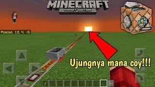 Cara membuat rel kereta api tanpa batas di Minecraft PE dan Minecraft PC