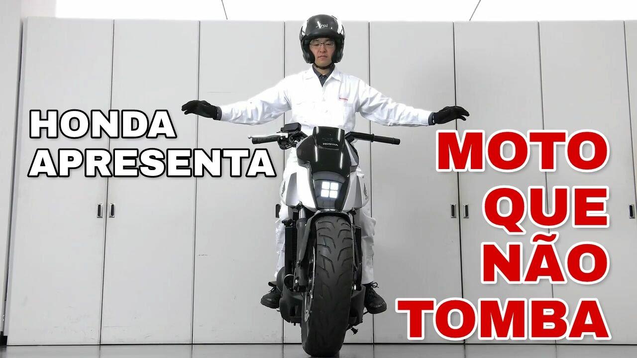 MOTO QUE NÃO TOMBA - Conheça o Honda Riding Assist