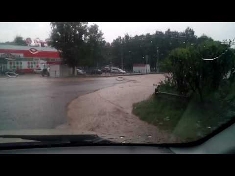 Погода заливает в Усть-Катаве.