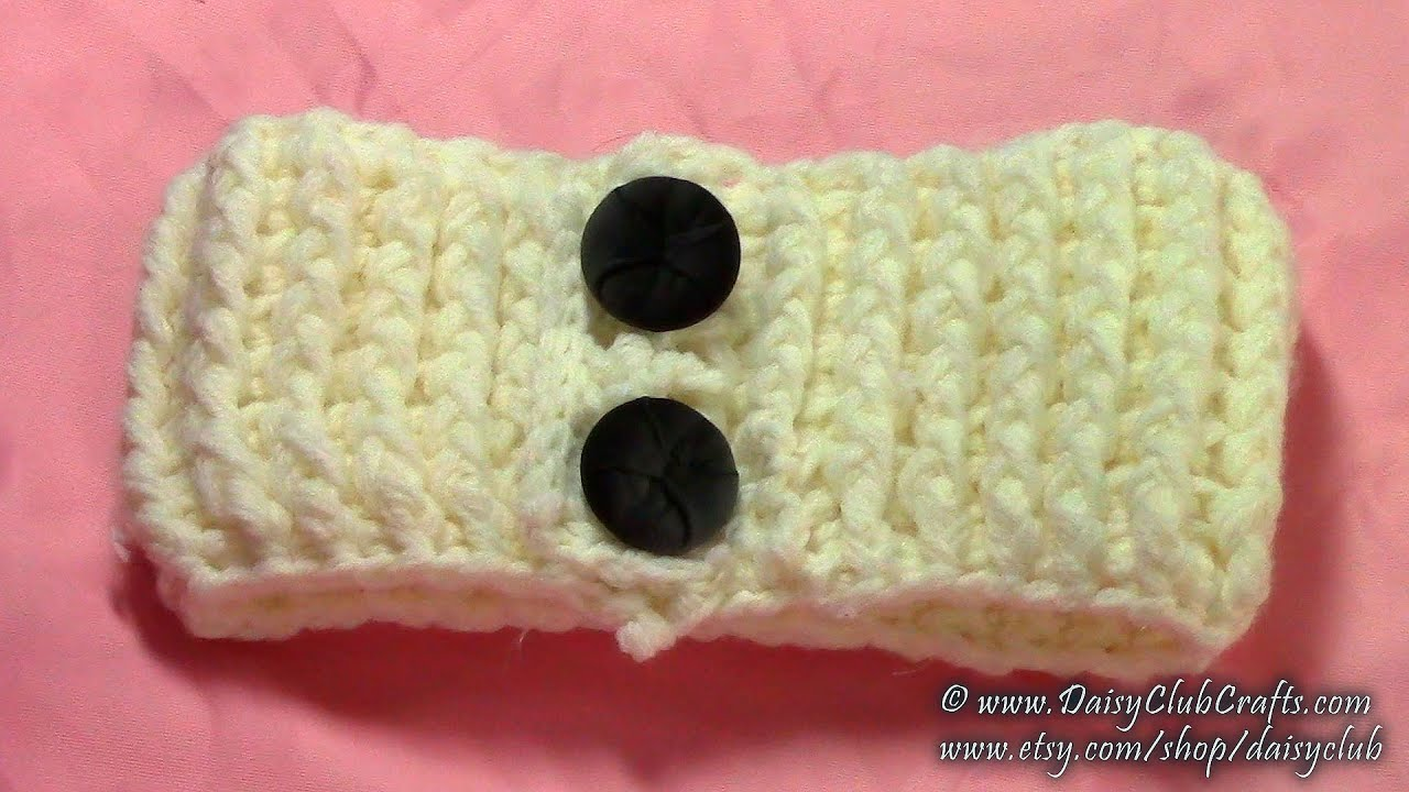 Diy easy simple crochet headband tutorial pattern crochet diy easy simple crochet headband tutorial pattern crochet ribbing youtube baditri Image collections