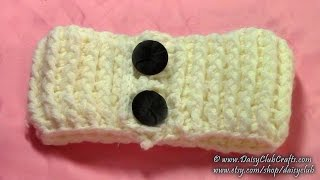 Diy Easy Simple Crochet Headband, Tutorial, Pattern Crochet Ribbing
