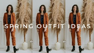 CASUAL SPRING OUTFIT IDEAS | 10 Outfit Ideas for Spring 🌸