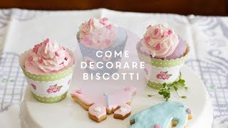 Come decorare biscotti con la pasta di zucchero per la primavera || How to decorate cookies