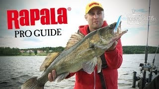 Rapala Pro Guide | Summer Trolling for Zander (English Subtitles)